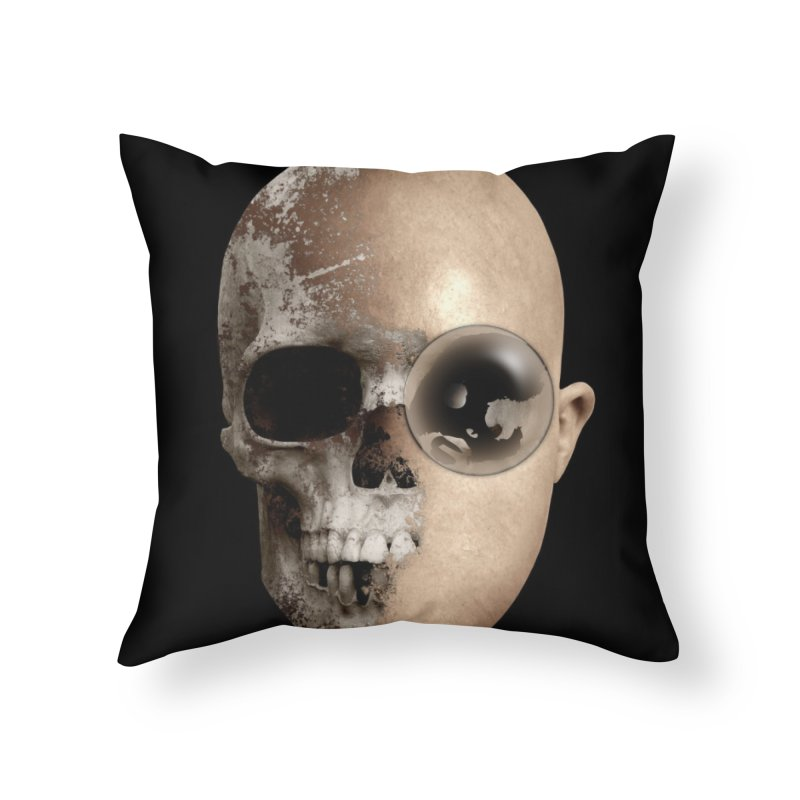 CasaNorte - EyePatchV Home Throw Pillow by Casa Norte's Artist Shop