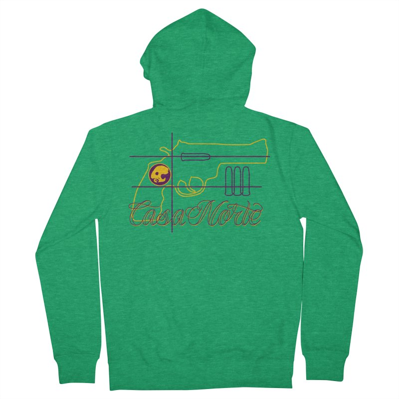 CasaNorte - Guns Men's Zip-Up Hoody by Casa Norte's Artist Shop