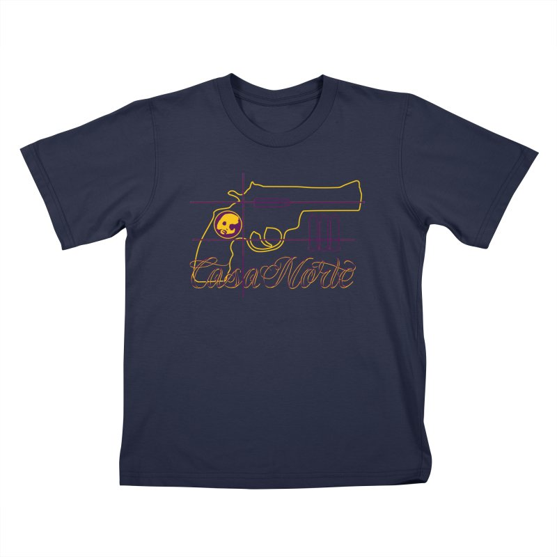 CasaNorte - Guns Kids T-Shirt by Casa Norte's Artist Shop