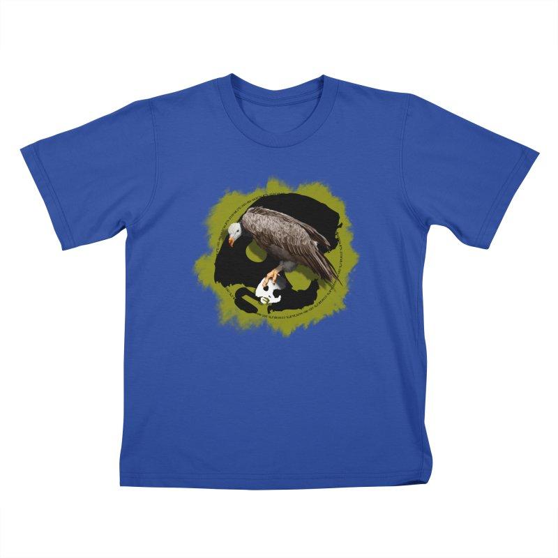 CasaNorte - VultureW Kids T-Shirt by Casa Norte's Artist Shop
