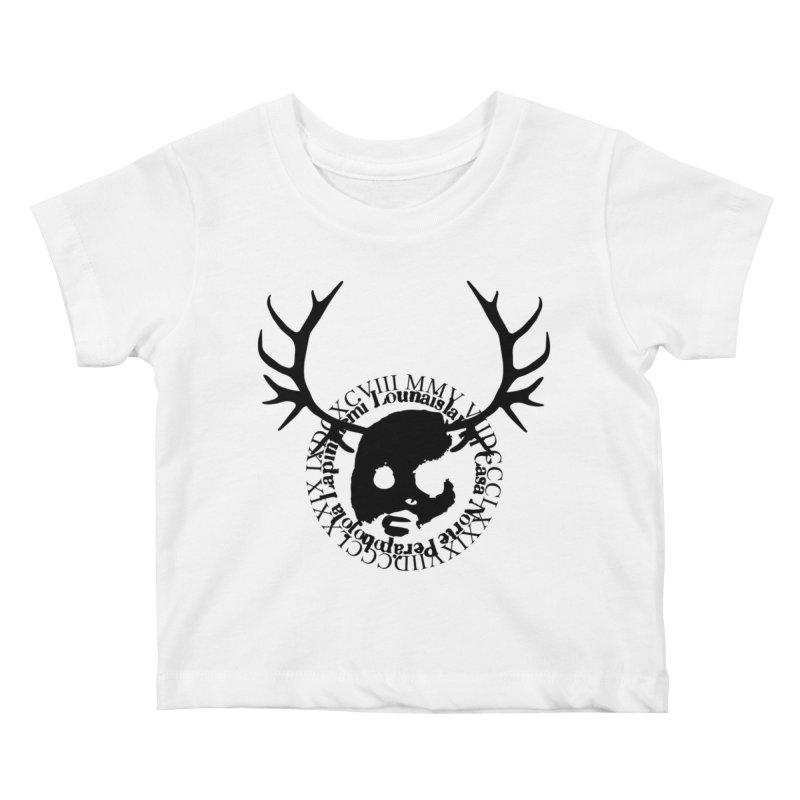 CasaNorte - PoroB Kids Baby T-Shirt by Casa Norte's Artist Shop