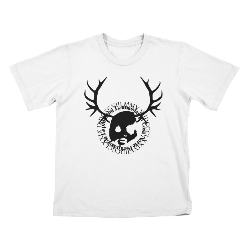 CasaNorte - PoroB Kids T-Shirt by Casa Norte's Artist Shop
