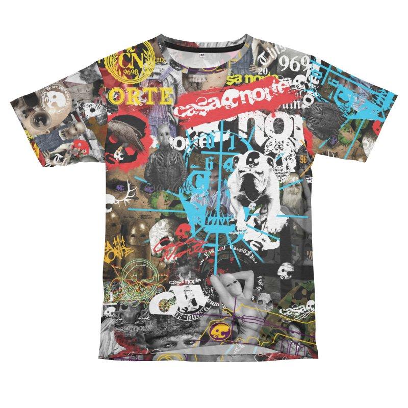 CasaNorte - CNWorld Men's French Terry T-Shirt Cut & Sew by Casa Norte's Artist Shop