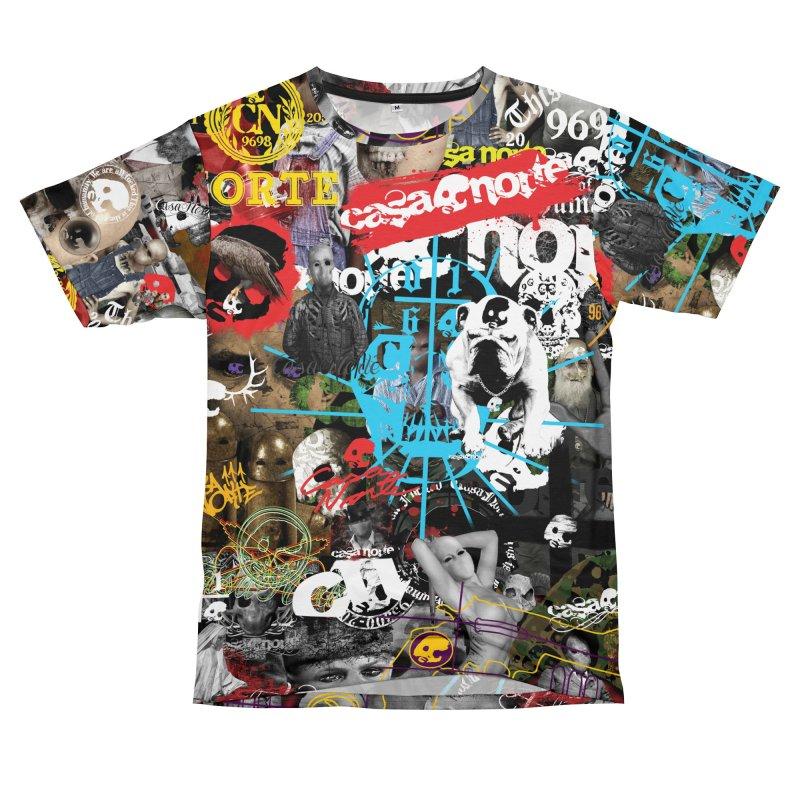 CasaNorte - CNWorld Women's Unisex T-Shirt Cut & Sew by Casa Norte's Artist Shop