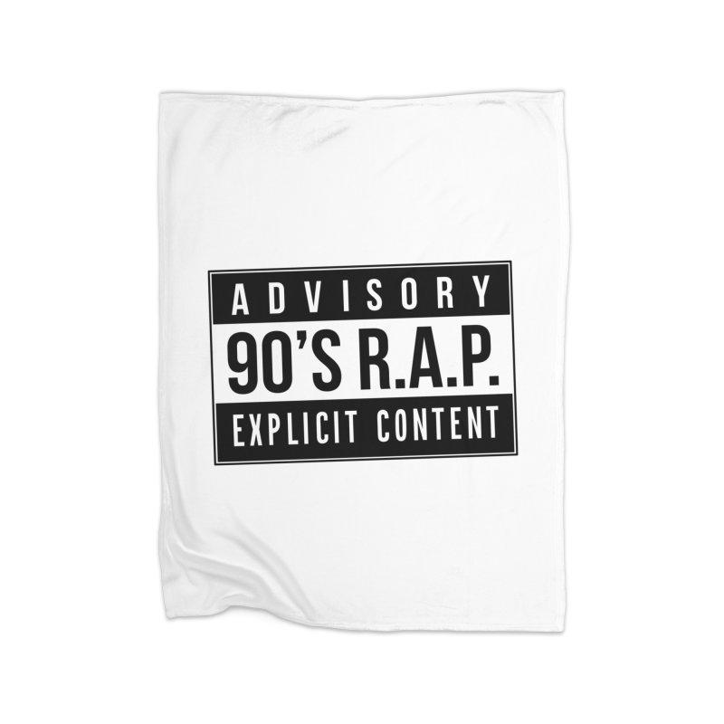 90sRAP - Explicit Home Blanket by CasaNorte's Artist Shop