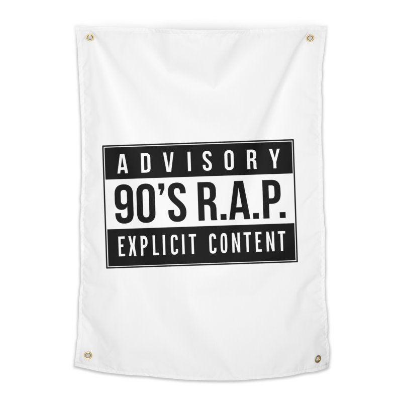 90sRAP - Explicit Home Tapestry by CasaNorte's Artist Shop
