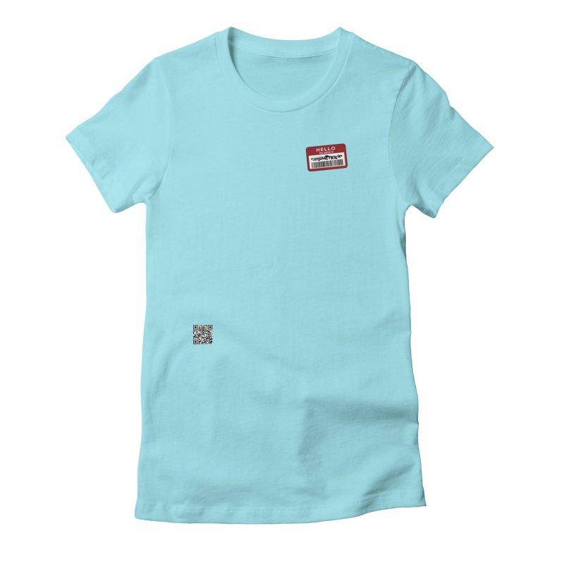 CasaNorte - Qbar Women's Fitted T-Shirt by CasaNorte's Artist Shop