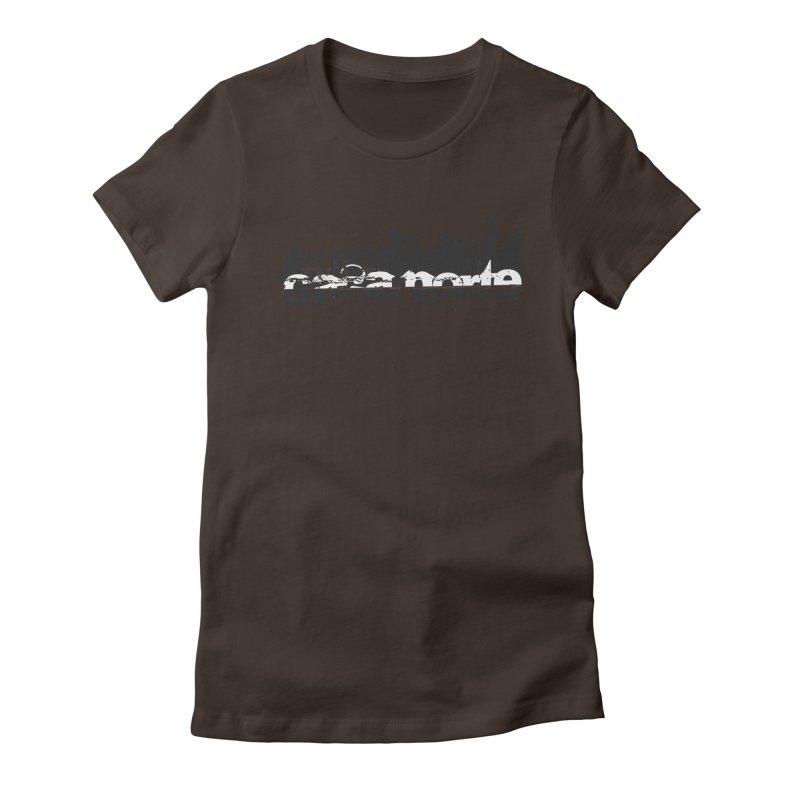 CasaNorte - Tervola Women's Fitted T-Shirt by CasaNorte's Artist Shop