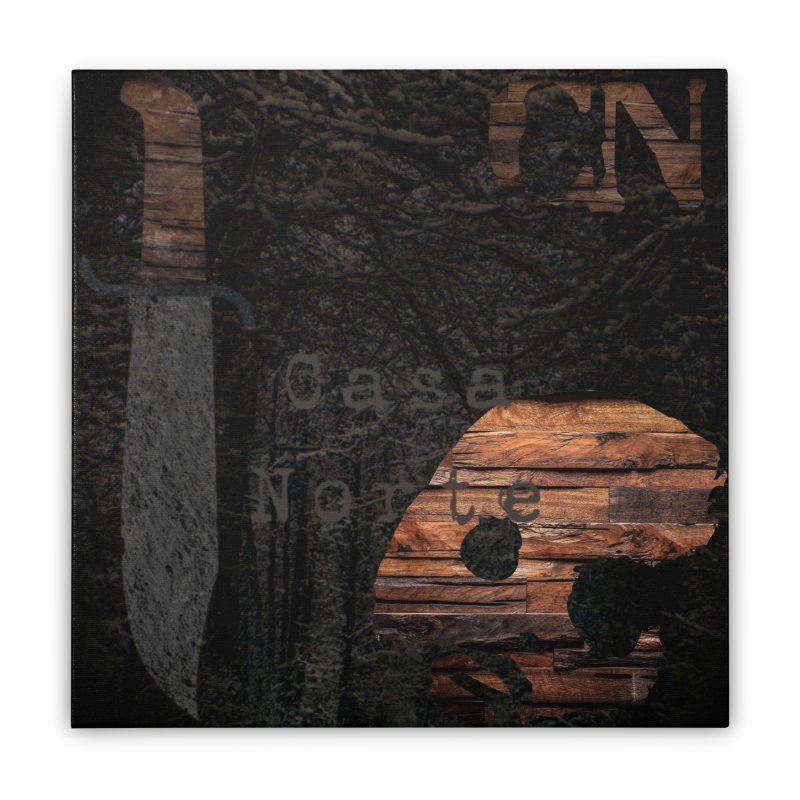 CasaNorte - CasaForest Home Stretched Canvas by CasaNorte's Artist Shop