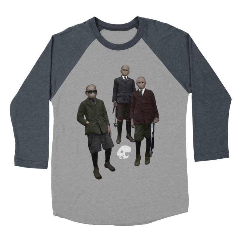 CasaNorte - Standing2 Men's Baseball Triblend T-Shirt by CasaNorte's Artist Shop