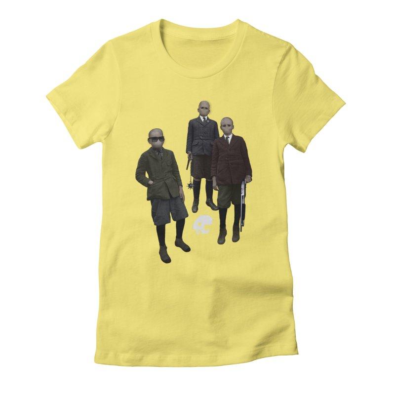 CasaNorte - Standing2 Women's Fitted T-Shirt by CasaNorte's Artist Shop