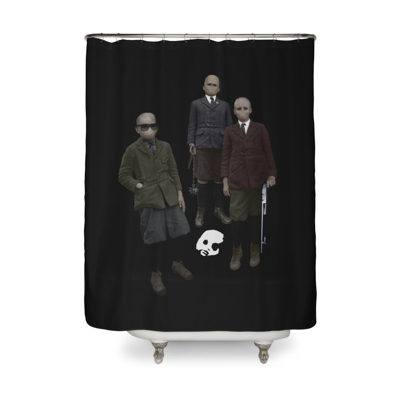 CasaNorte - Standing2 Home Shower Curtain by CasaNorte's Artist Shop