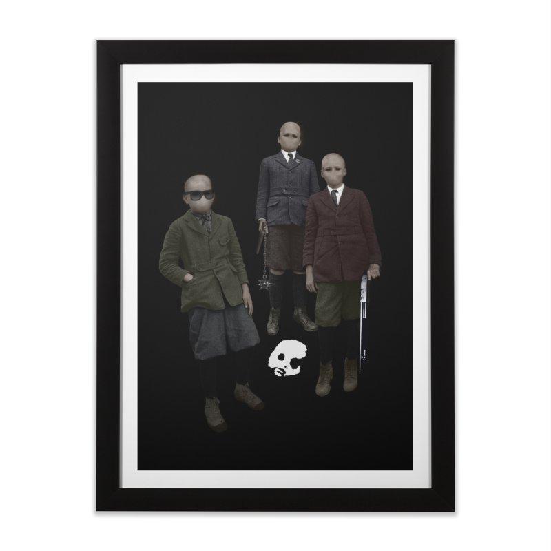 CasaNorte - Standing2 Home Framed Fine Art Print by CasaNorte's Artist Shop