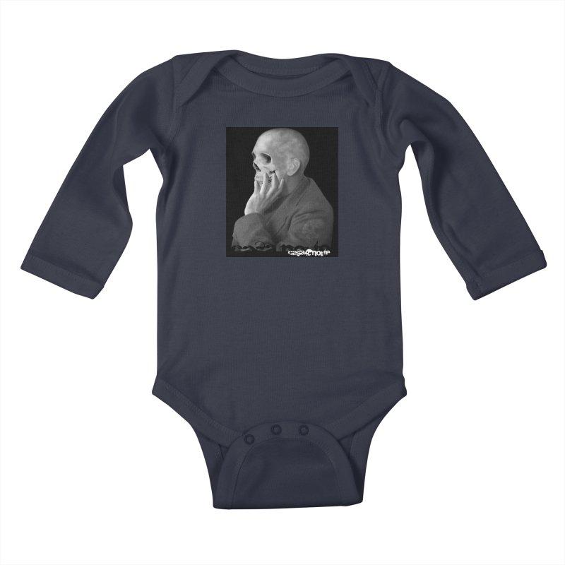 CasaNorte - Thoughts Kids Baby Longsleeve Bodysuit by Casa Norte's Artist Shop