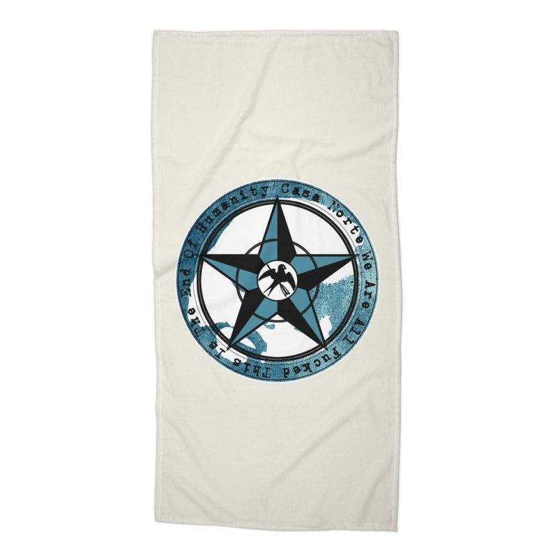 CasaNorte - Swallow Accessories Beach Towel by CasaNorte's Artist Shop