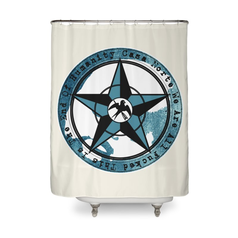 CasaNorte - Swallow Home Shower Curtain by CasaNorte's Artist Shop