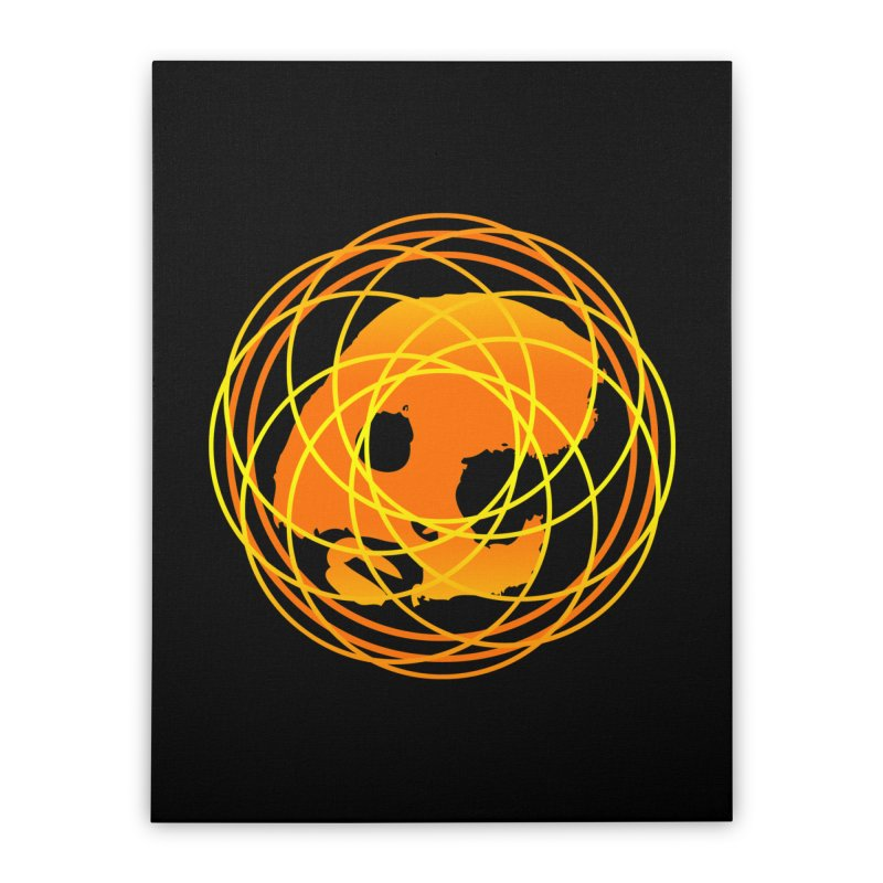 CasaNorte - Sun Home Stretched Canvas by CasaNorte's Artist Shop