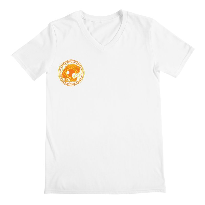 CasaNorte - Sun Men's V-Neck by CasaNorte's Artist Shop