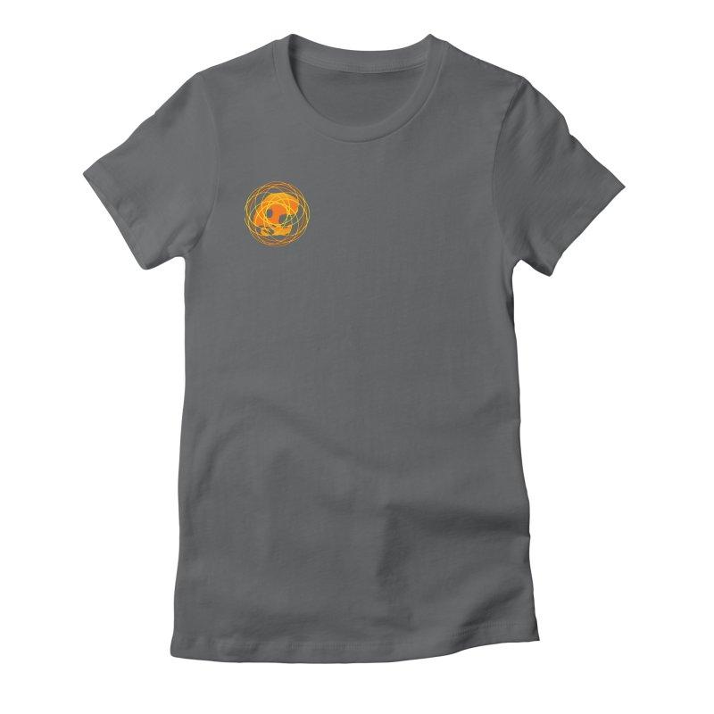 CasaNorte - Sun Women's Fitted T-Shirt by CasaNorte's Artist Shop