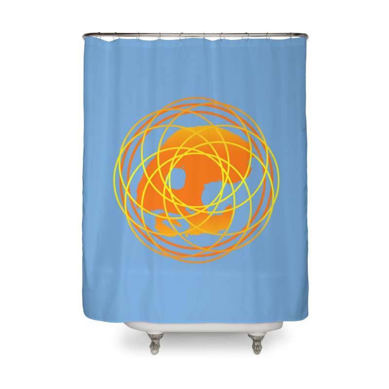 CasaNorte - Sun Home Shower Curtain by CasaNorte's Artist Shop