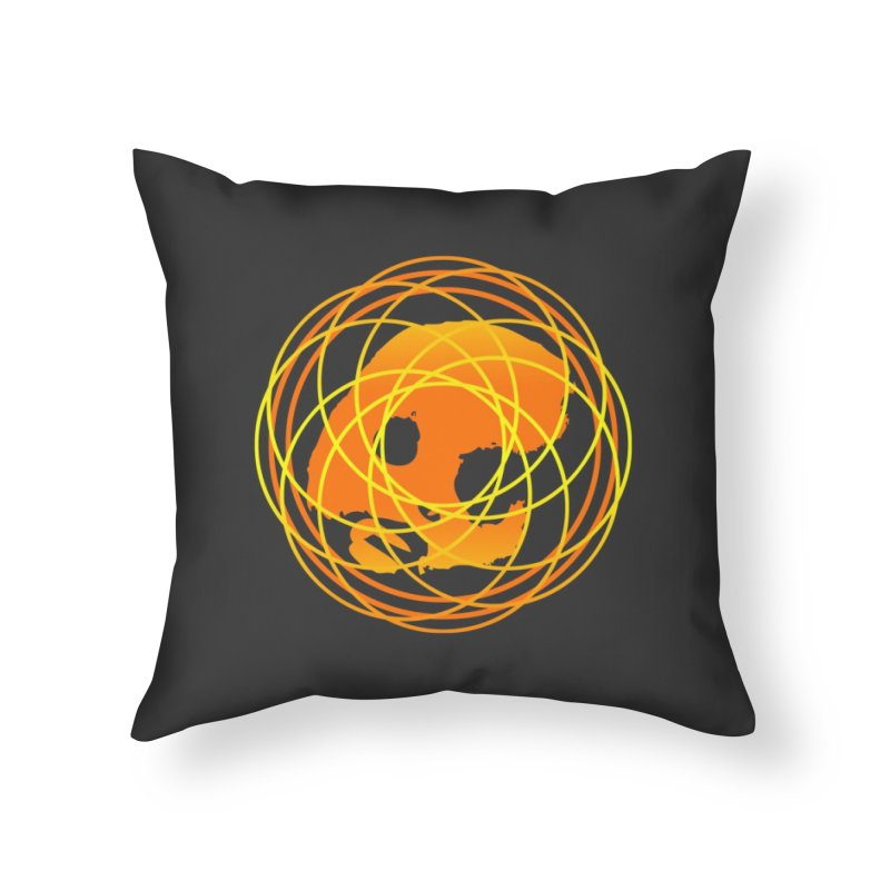 CasaNorte - Sun Home Throw Pillow by CasaNorte's Artist Shop