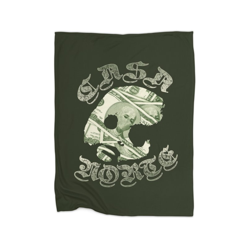 CasaNorte - Money Home Blanket by CasaNorte's Artist Shop