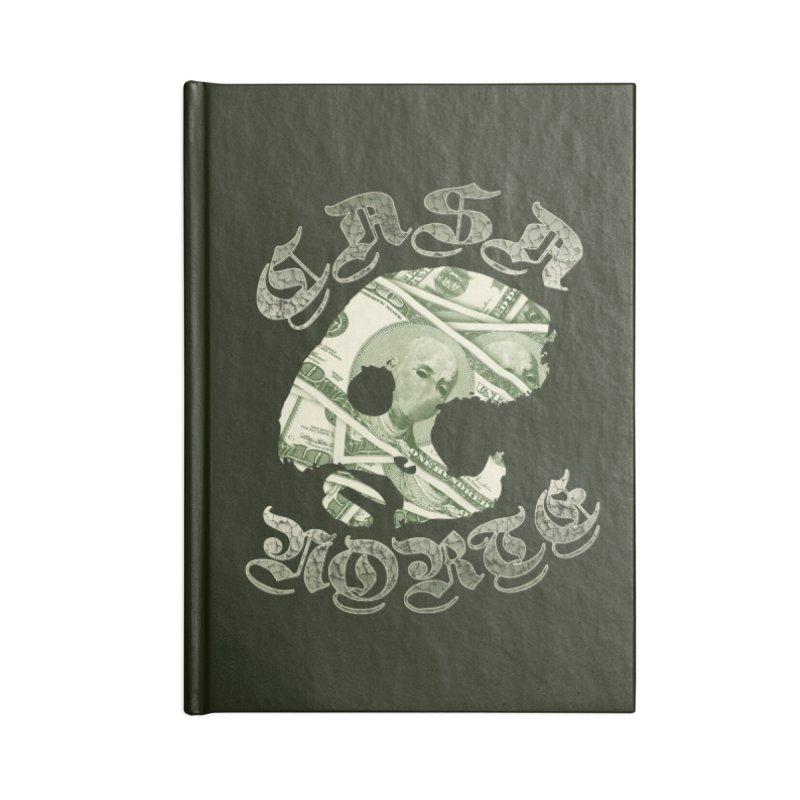 CasaNorte - Money Accessories Notebook by CasaNorte's Artist Shop