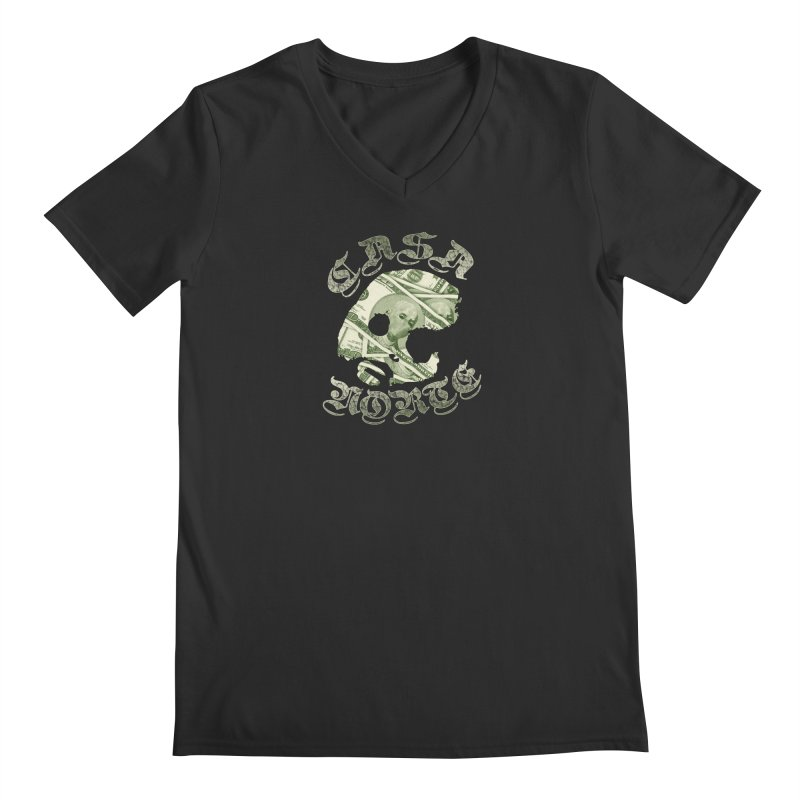 CasaNorte - Money Men's V-Neck by CasaNorte's Artist Shop