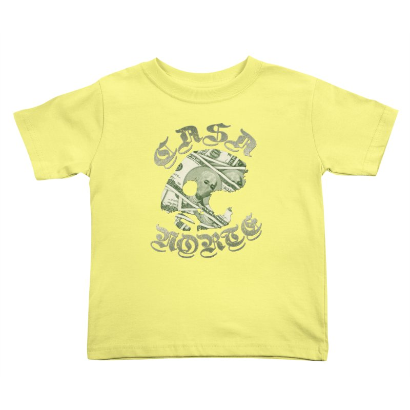 CasaNorte - Money Kids Toddler T-Shirt by CasaNorte's Artist Shop