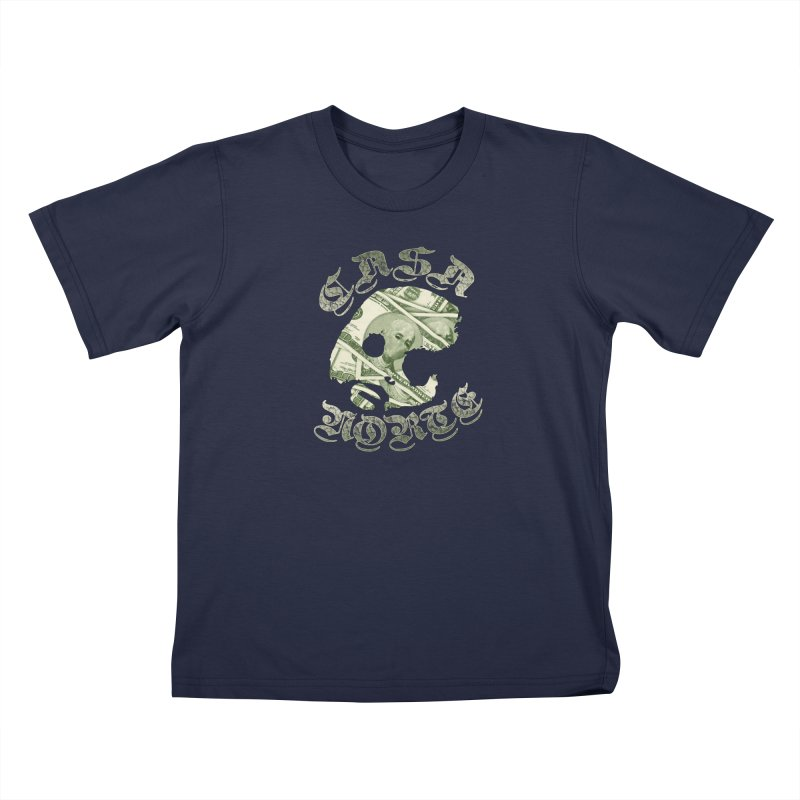 CasaNorte - Money Kids T-Shirt by CasaNorte's Artist Shop