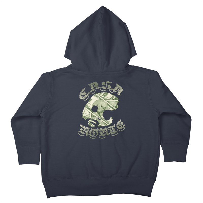 CasaNorte - Money Kids Toddler Zip-Up Hoody by CasaNorte's Artist Shop