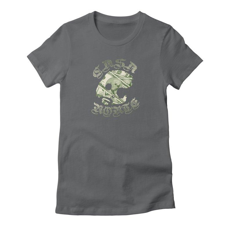 CasaNorte - Money Women's Fitted T-Shirt by CasaNorte's Artist Shop