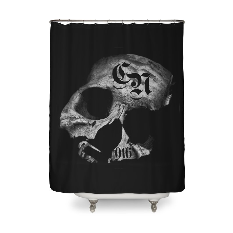 CasaNorte - BlackDeath Home Shower Curtain by CasaNorte's Artist Shop