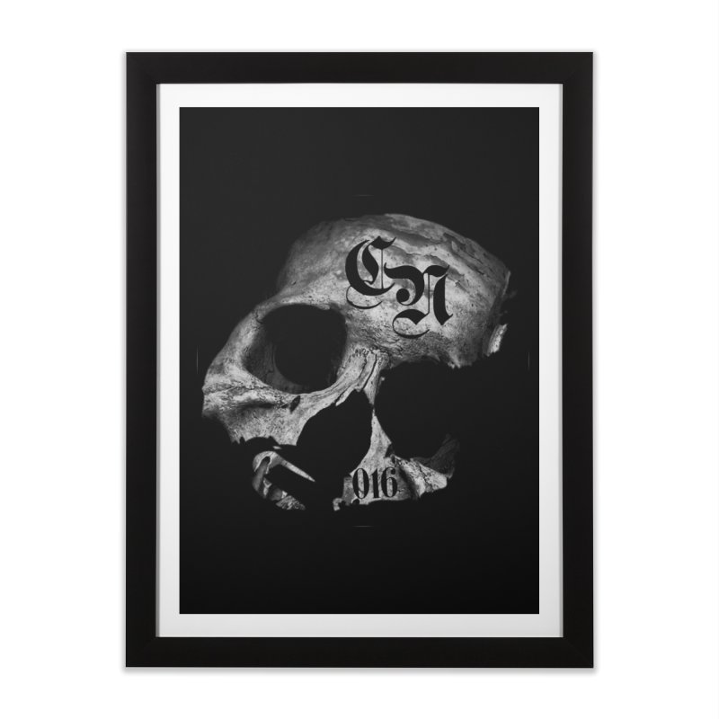 CasaNorte - BlackDeath Home Framed Fine Art Print by CasaNorte's Artist Shop