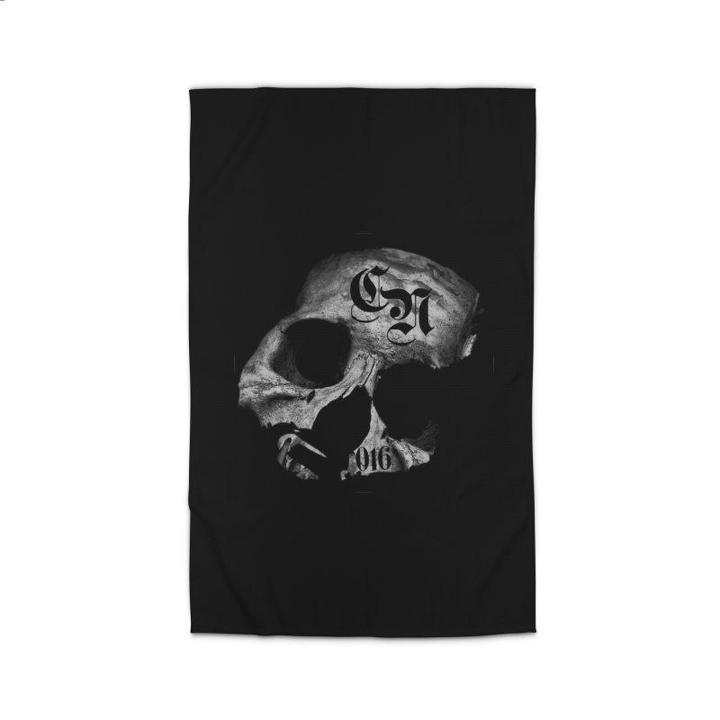 CasaNorte - BlackDeath Home Rug by CasaNorte's Artist Shop