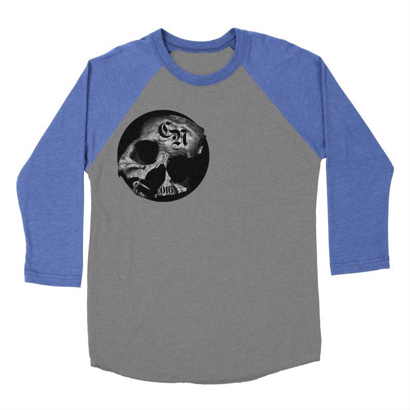 CasaNorte - BlackDeath Men's Baseball Triblend T-Shirt by CasaNorte's Artist Shop