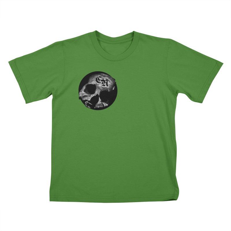 CasaNorte - BlackDeath Kids T-Shirt by CasaNorte's Artist Shop