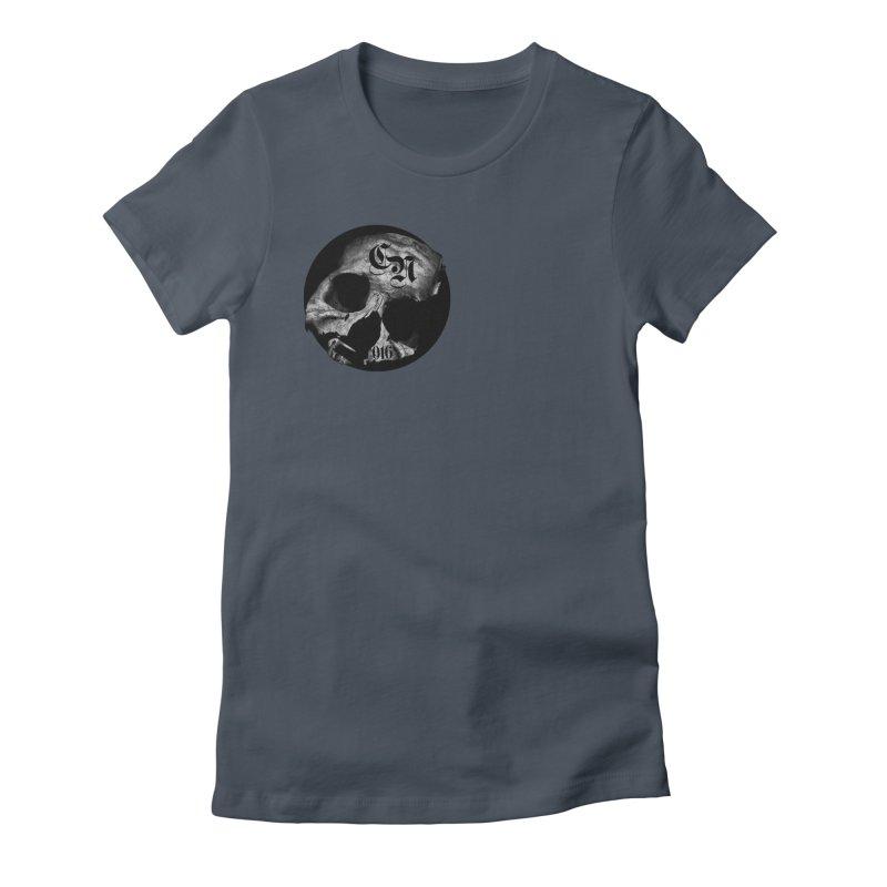 CasaNorte - BlackDeath Women's Fitted T-Shirt by CasaNorte's Artist Shop