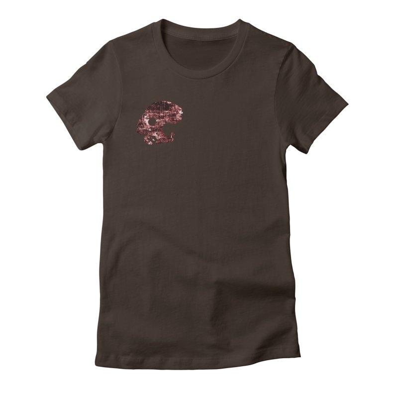 CasaNorte - DollFaceRust Women's Fitted T-Shirt by CasaNorte's Artist Shop