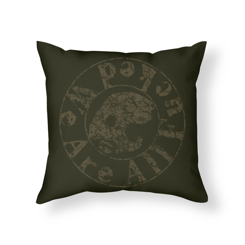 CasaNorte - WeRFucV Home Throw Pillow by CasaNorte's Artist Shop