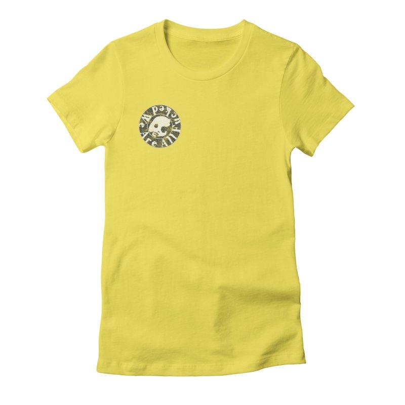 CasaNorte - WeRFucPatch Women's Fitted T-Shirt by CasaNorte's Artist Shop
