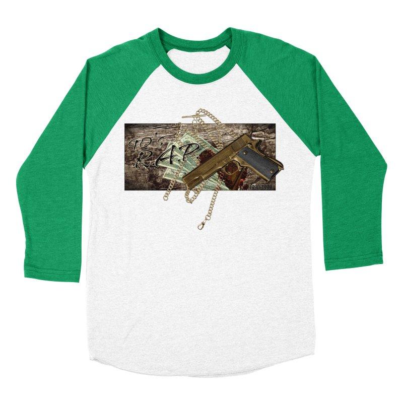 90s RAP- 90sNew3 Men's Baseball Triblend T-Shirt by CasaNorte's Artist Shop