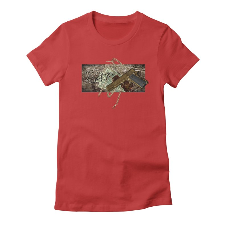 90s RAP- 90sNew3 Women's Fitted T-Shirt by CasaNorte's Artist Shop