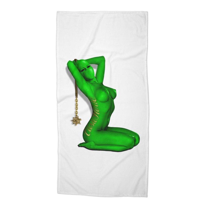 CasaNorte - DUGreen Accessories Beach Towel by CasaNorte's Artist Shop
