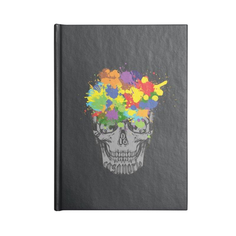 CasaNorte - Splat Accessories Notebook by CasaNorte's Artist Shop