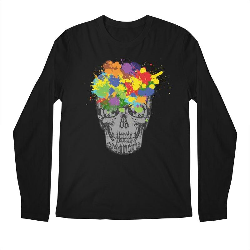 CasaNorte - Splat Men's Regular Longsleeve T-Shirt by CasaNorte's Artist Shop