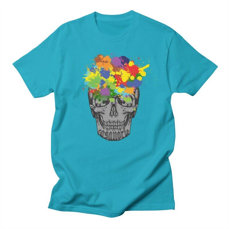 CasaNorte - Splat Men's Regular T-Shirt by CasaNorte's Artist Shop