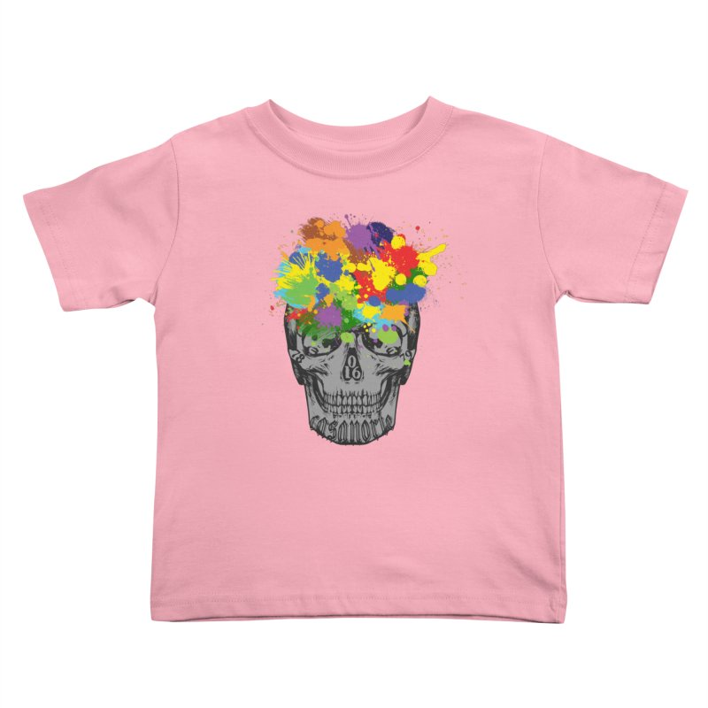 CasaNorte - Splat Kids Toddler T-Shirt by CasaNorte's Artist Shop