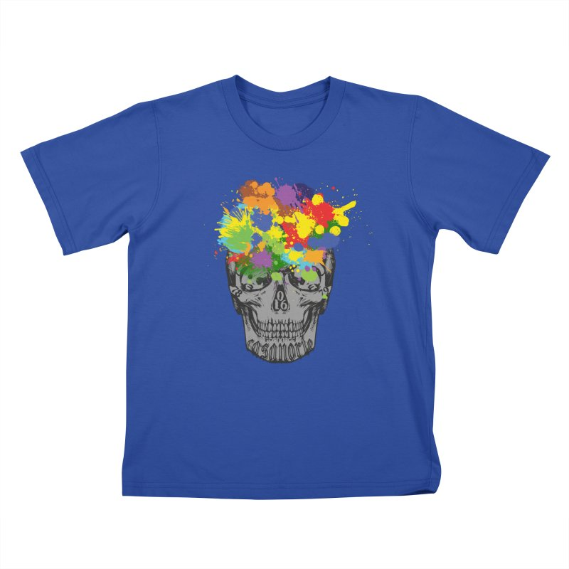 CasaNorte - Splat Kids T-Shirt by CasaNorte's Artist Shop