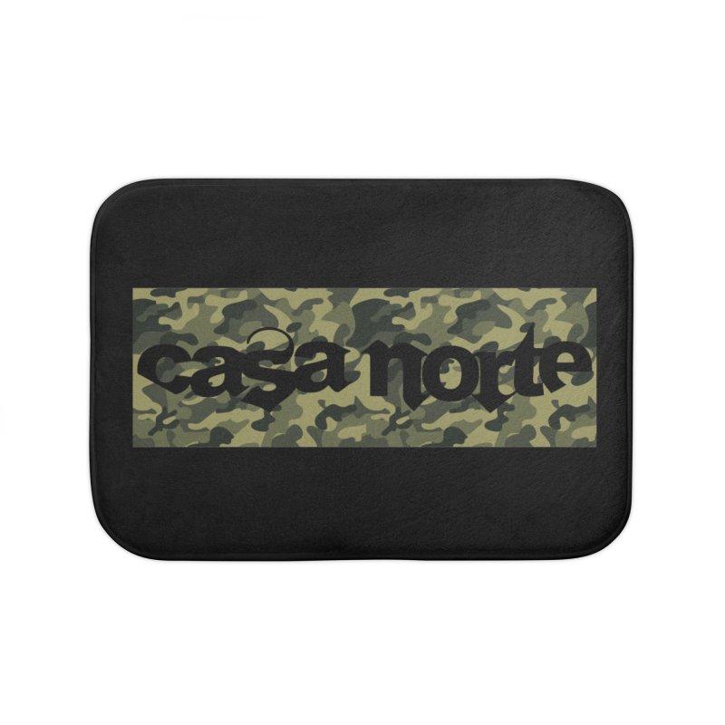 CasaNorte - CN1Camo3 Home Bath Mat by CasaNorte's Artist Shop